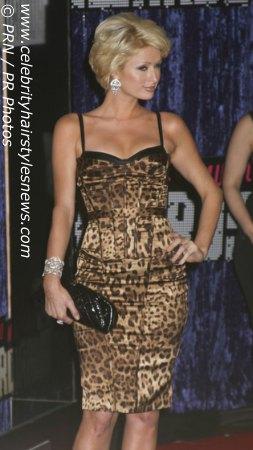 Paris Hilton With Short Hair